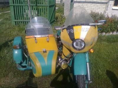Апр 2012 тест мотоцикла урал м67 0